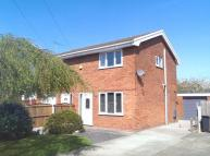 2 bed semi detached property in Bracken Close, Broughton...