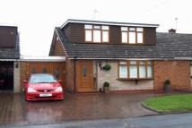 3 bed semi detached home in Bute Close, Willenhall