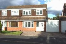 semi detached property in Cedar Park Road...