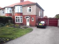 semi detached property for sale in Fellside Road, Whickham...