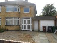 Woodgate Drive semi detached property to rent