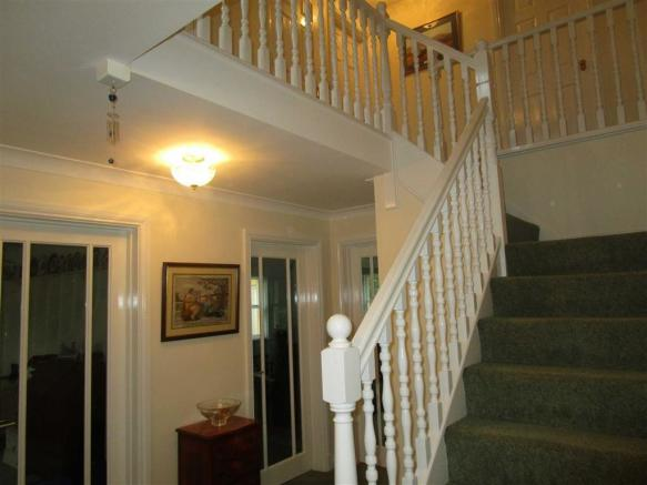 FIRST FLOOR STAIRS AND LANDING