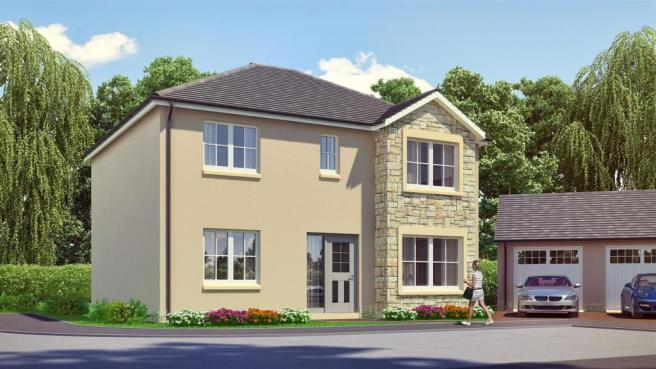 4 bedroom detached house for sale in plot 9 kendrum belmont park scone perth ph2