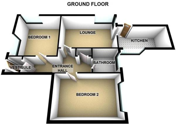 4 Albany Terrace Newburgh KY14 6BE - all floors -