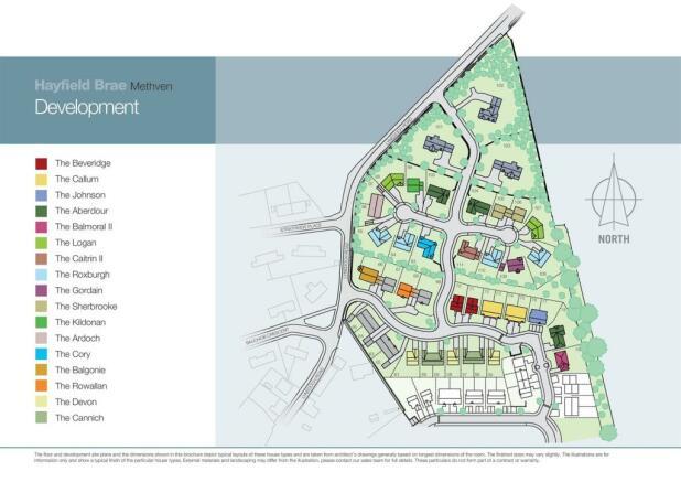 Methven Site plan v1