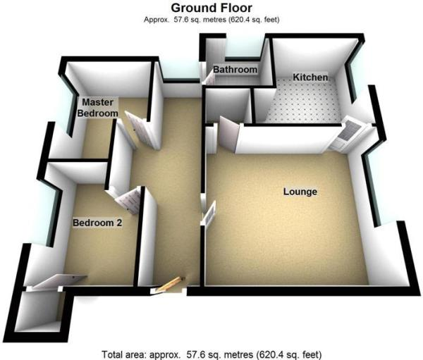 23 leadenflower place PH7 3JD - Ground Floor - 3D.