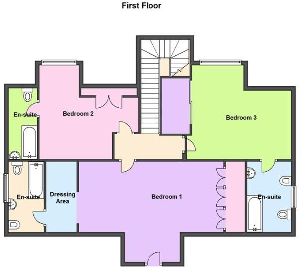Horton House - Floor