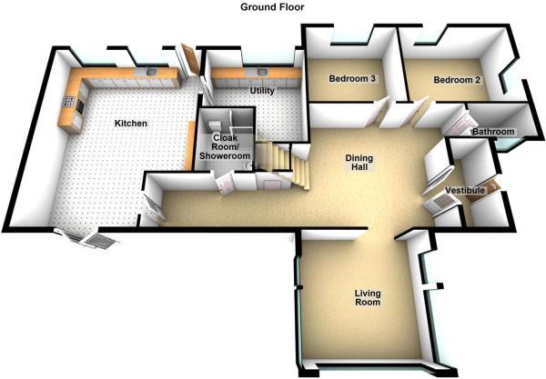 Ross Farm Cottage, Madderty - Floor 0.JPG