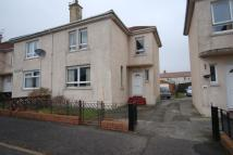 semi detached property in Beggs Terrace, Ardrossan...