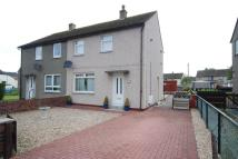 semi detached home for sale in Moncur Road, Kilwinning...