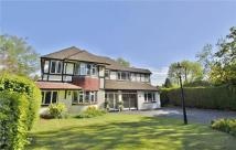Detached home for sale in Woodham, Surrey, KT15