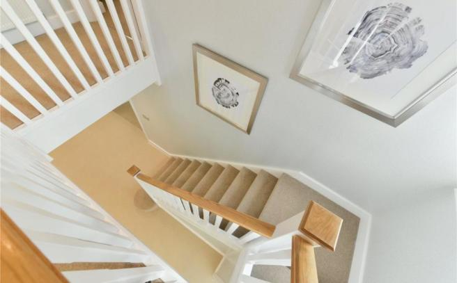 Show Home Stairway