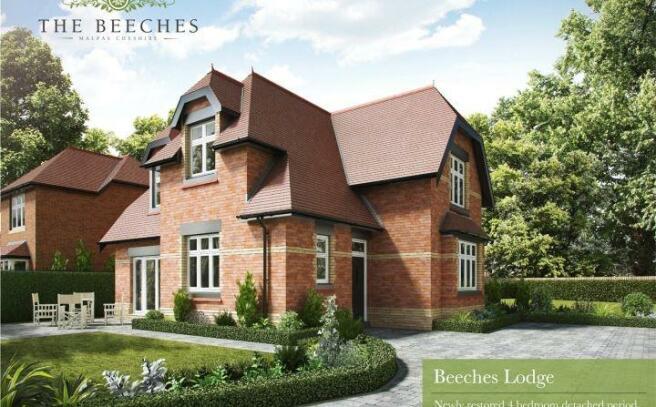 Cgi Of Beeches Lodge