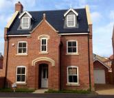 4 bed new property in Plot 55...