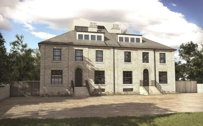 Tibbenham House Cgi