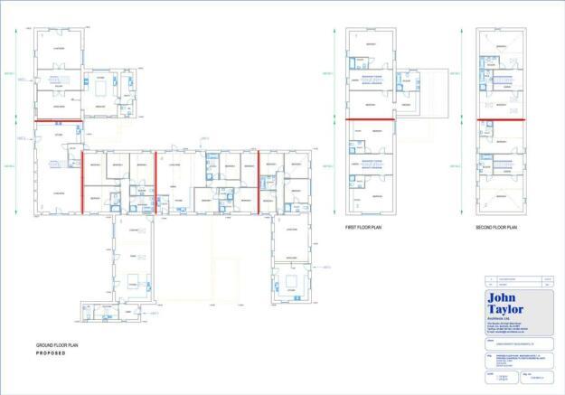 Floor Plans Unit 1-5