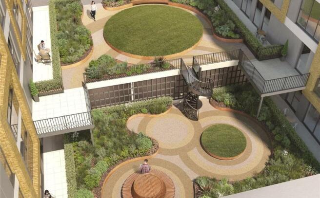 Communal Garden Cgi