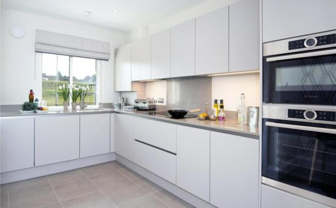 Kitchen-Show Home