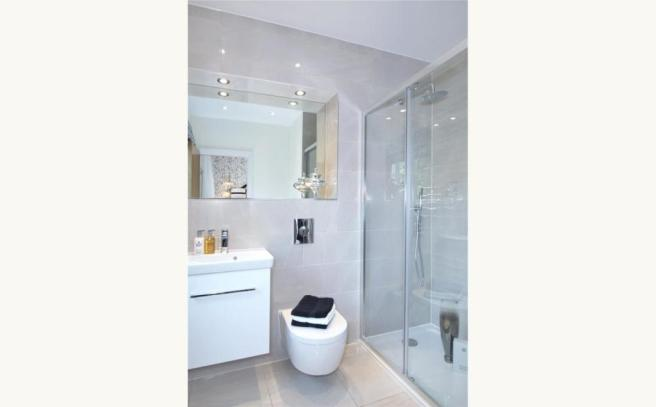 Shower Rm- Show Home