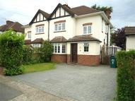 semi detached property for sale in Bruce Avenue, Shepperton...