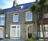 Terraced home in Belmont Place, Newquay...