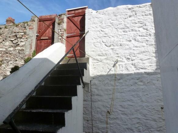 courtyard steps