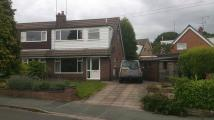3 bed semi detached home to rent in HEATH AVENUE, Rode Heath...