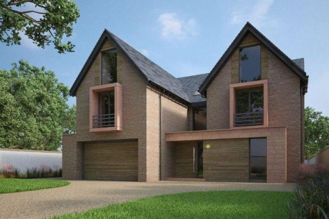 N Home Elevation Uk : Bedroom detached house for sale in hill top hale wa