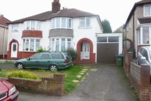 semi detached home to rent in Poplar Avenue, Tividale...