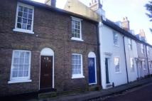 2 bed home to rent in Castle Row, Canterbury.
