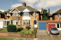 3 bedroom semi detached home in Welwyndale Road...