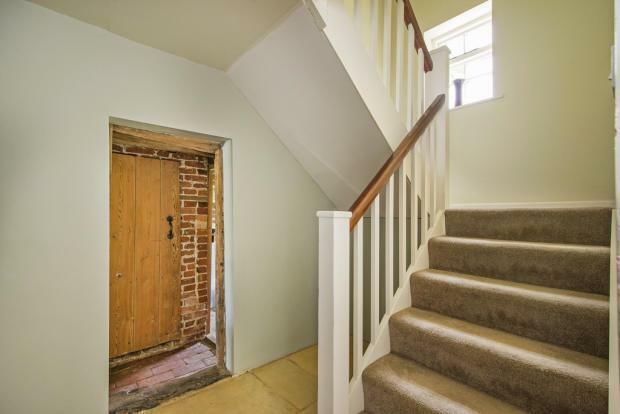 Myrtle Cottage stair