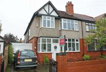 semi detached property in Manor Drive, Crosby