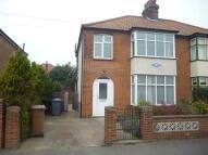 semi detached house in Penfold Road, Felixstowe...