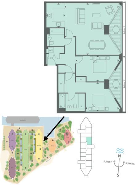 96 Riverlight 3 - floorplan