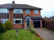 4 bed semi detached home in Christopher Road...
