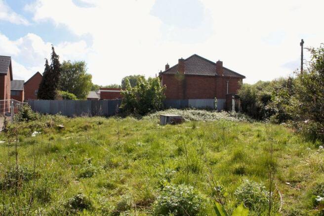 Site looking east
