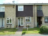 Terraced house in Harebell Close...