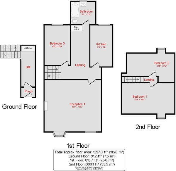 Floor plan 1St Ronan