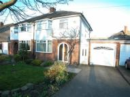 3 bedroom semi detached home for sale in Arrowe Park Road...