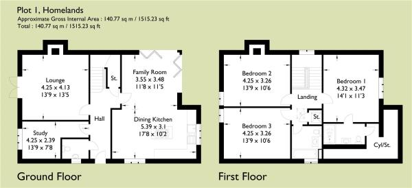 The Croft Floorplan