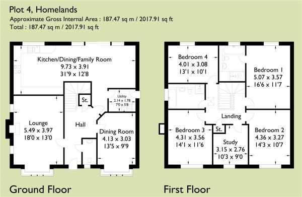 Rowan Floorplan