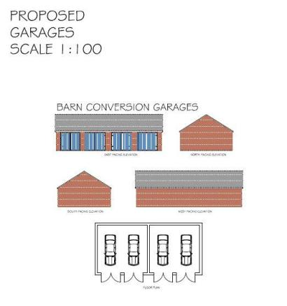 Proposed Barn Garage