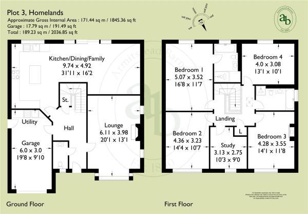 Ash House Floorplan
