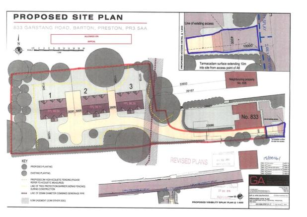 Proposed Site Plan A