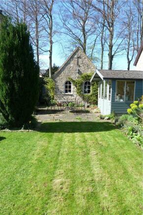 Side Of Garden Area