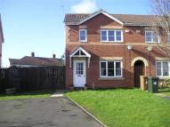semi detached home to rent in Angus Crescent...