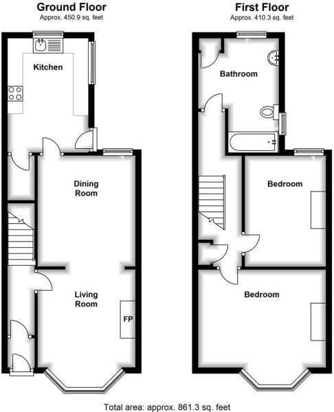 6 Onslow floor plan.