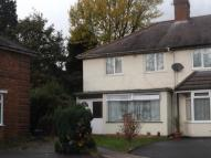3 bed End of Terrace house in Besant Grove, Birmingham...