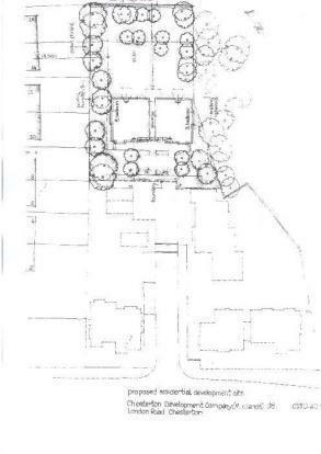 Rear Site Plan